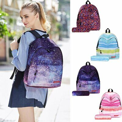 Galaxy School Bag Backpack For Teen Teenage Girls Kids Unisex  UK
