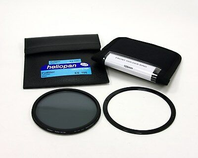Heliopan 105mm Slim Cir-Polarising Filter+Lee 105mm Front Holder Ring New!