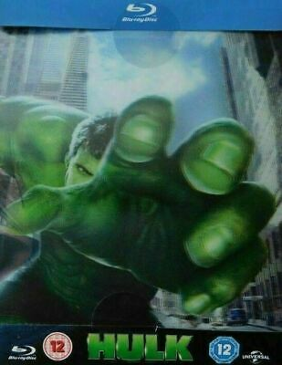 Hulk - Limited Lenticular Edition Steelbook [Blu-ray] New & Sealed!!