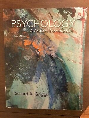Psychology : A Concise Introduction by Richard A. Griggs (2014, Paperback,...
