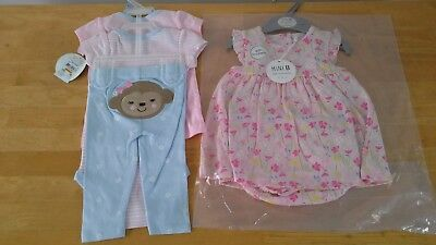 Bundle of baby girls clothes sets summer size 3-6 months BNWT