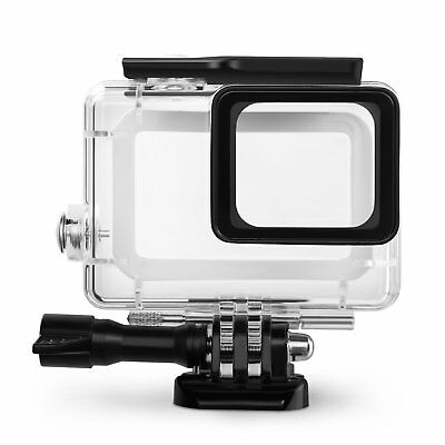 Rhodesy GoPro Hero 6 Hero 5 Waterproof Underwater Light Housing Protective Case