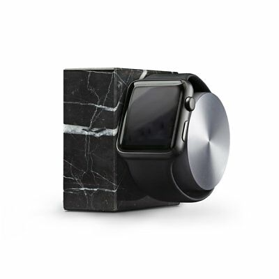 Native Union DOCK for Apple Watch Luxury Tech Black Marble Edition Weighted