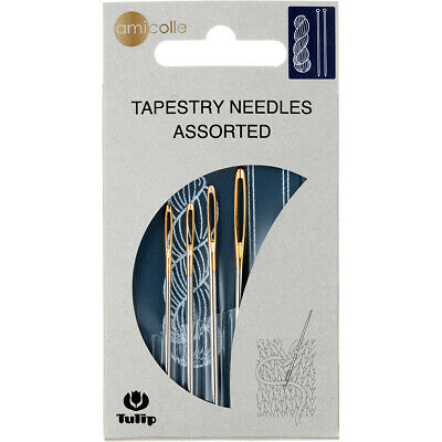 Tulip Needle Company Tulip Big Eye Tapestry Needles-1 Each Size 13, 14 (10Pk)