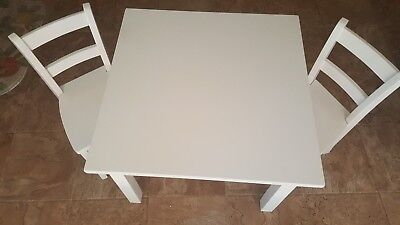 Terrific My First Table Chairs By Pottery Barn Kids 85 00 Picclick Spiritservingveterans Wood Chair Design Ideas Spiritservingveteransorg