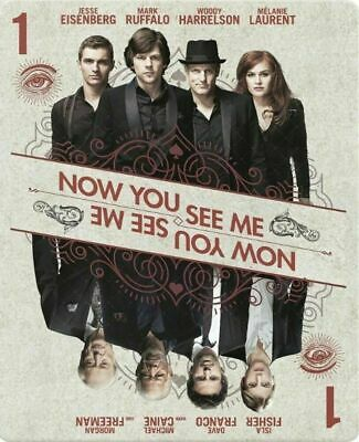 Now You See Me - Limited Edition Steelbook [Blu-ray] New & Factory Sealed!!