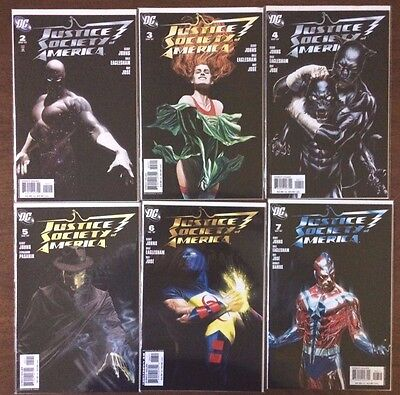 Justice Society of America  #2 3 4 5 6 7    (DC  3rd Series)   Justice League