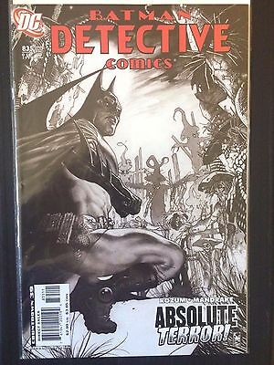 Detective Comics (1937 1st Series) #835  Batman  Scarecrow VF/NM