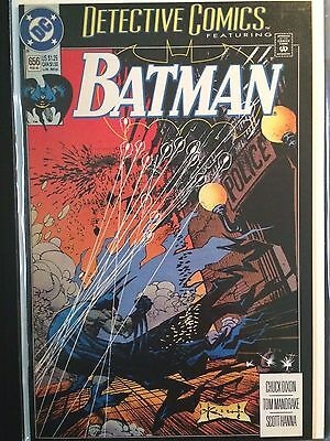 "Detective Comics (1937 1st Series) #656 ""Besieged"" Sam Keith  Batman VF+"