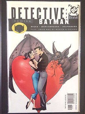 Detective Comics (1937 1st Series) #764  Batman  Rucka  VF/NM