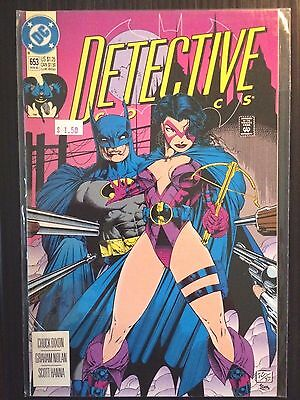 "Detective Comics (1937 1st Series) #653  ""Huntress"" Robin  Batman VF+"
