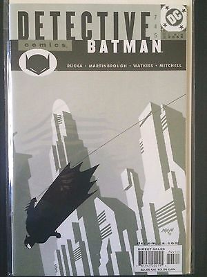 Detective Comics (1937 1st Series) #745  Batman  Greg Rucka VF/NM