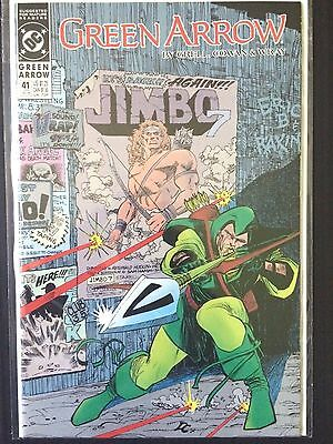 Green Arrow #41   (DC 1st Series 1990)    Mike Grell   VF