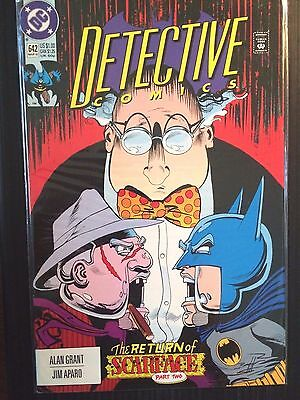 "Detective Comics (1937 1st Series) #642  ""Return of Scarface""  Batman VF"