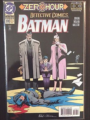 "Detective Comics (1937 1st Series) #678   ""Zero Hour""  Batman  VF+"