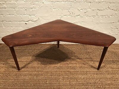Tremendous Vintage Teak Boomerang Coffee Table 1960S France Sons Evergreenethics Interior Chair Design Evergreenethicsorg