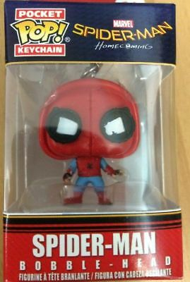 Spider-Man Homecoming Spider-Man Pop! Keychan Portachiavi