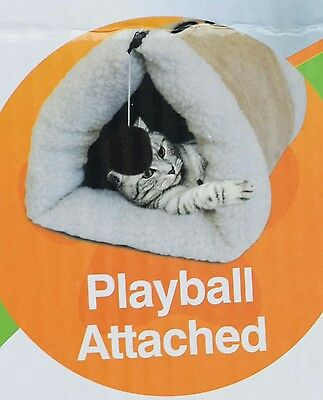 Cat Tunnel Amazing 2-in1 Tunnel Bed & Mat!