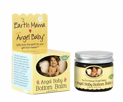 Earth Mama Angel Baby Balm Bottom Angel Baby, 2 Fl. Oz.