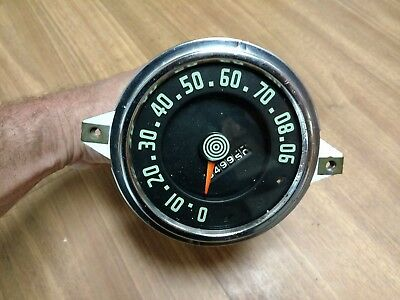 Vintage International Harvester S-Series Pickup Truck Speedometer 1955 1956
