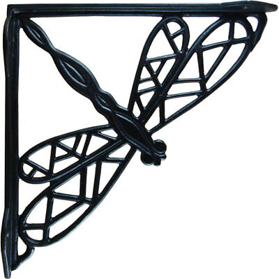 Dragonfly Cast Iron Shelf Brackets (Pair)