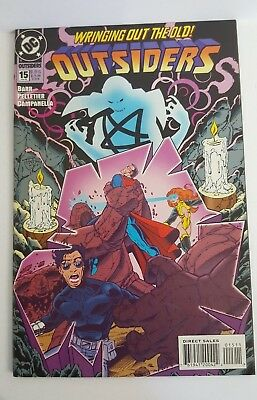 """DC Comics Outsiders #15 """"New Year's Evil"""" Feb 1995, Action Adventure, Modern Age"""