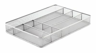 KD Organizers 6-Slot Large Mesh Drawer Organizer: Use as kitchen silverwar..