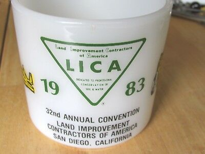 1983 Convention Cup Land Improvement Conservation  Contractor, San Diego Ca