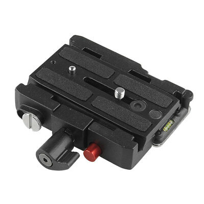 577 Rapid Connect Adapter with QR Plate 501PL For Manfrotto HEAD 701HDV Good