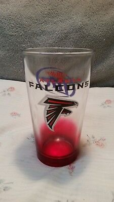 atlanta falcons miller lite pint glass