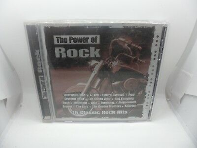Power of Rock: 16 Classic Rock Hits by Various Artists (CD, Madacy) - LOC A75
