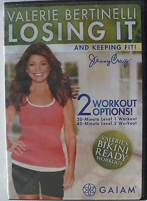 Valerie Bertinelli Losing It and Keeping Fit - Jenny Craig - DVD   Exercise