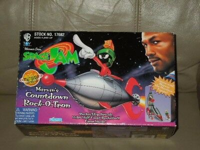 Rare Warner Brothers Marvin the Martian Space Jam Countdown Rock-O-Tron