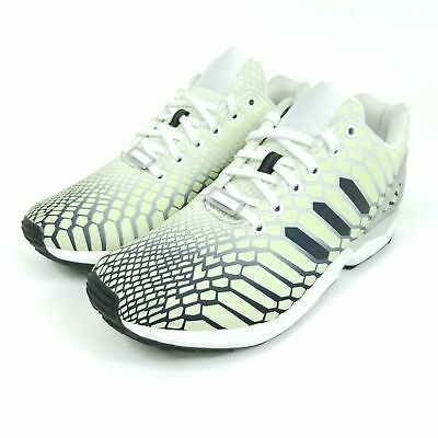 d877443d1f093 Adidas Originals ZX Flux Xeno Green Glow In the Dark Reflective AQ4535 Sz.10