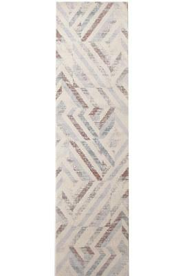 Hallway Runner Hall Rug Modern Grey Mat Carpet 3, 4 Metres Long FREE DELIVERY