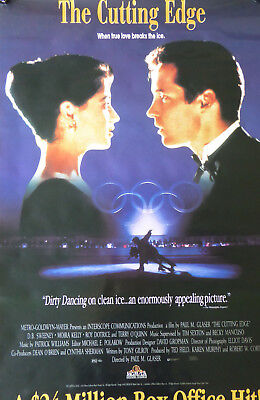 The CUTTING EDGE movie poster