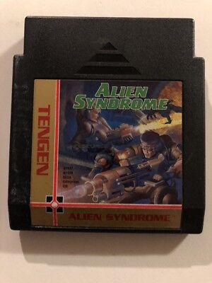 Alien Syndrome ~ NES Game Fast Ship