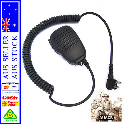 AUSCB Compact Speaker Microphone - Suits AUSCB 5W 80CH UHF CB Handheld