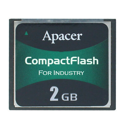 Apacer CompactFlash for Industry 128MB 256MB 2GB Industrial CF III 2GB Card