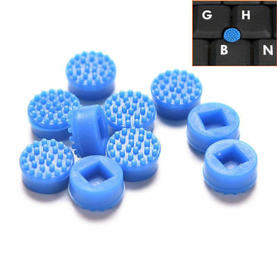 Blue Trackpoint Mouse Stick Point Cap Nipple for Dell HP Laptop (2 per lot)