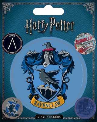 Harry Potter : RAVENCLAW CREST & SYMBOLS STICKER PACK from Pyramid