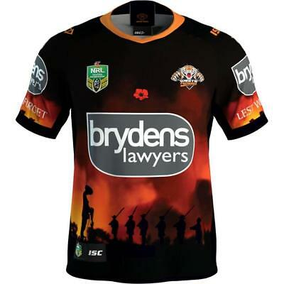West Tigers 2018 Commemorative Edition rugby jersey