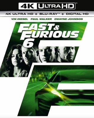 Fast & Furious 6 - Rápido And The Furious 6 4K Muy HD Nuevo 4K UHD (8310694)