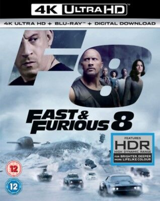 Fast & Furious 8 - The Destin Of The Furious 4K Ultra HD Neuf 4K UHD (8312320)
