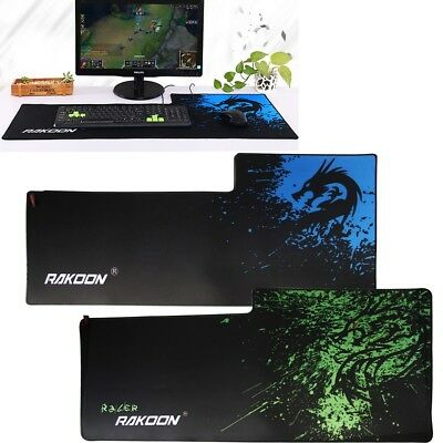 Extra Large XL Gaming Mouse Pad Mat for PC Laptop Macbook Anti-Slip 90cm*40cm