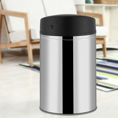 8/10/13-Gallon Touch Free Sensor Automatic Touchless Trash Can Kitchen Office