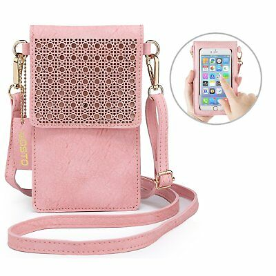 fc26c1cb6511 CROSSBODY PU LEATHER Womens Shoulder Bag Phone Purse Small Wallet ...