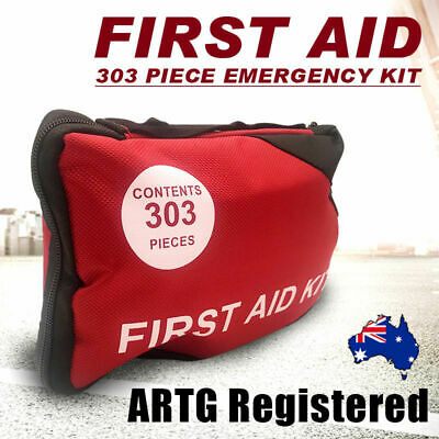 303pcs ARTG Registered First Aid Kit-A must have for family office car camping