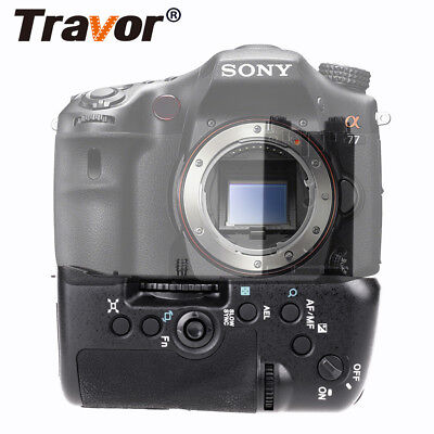 Battery Grip For Sony STL-A77 A77V A77 II A99 II Camera Replacement as VG-C77AM