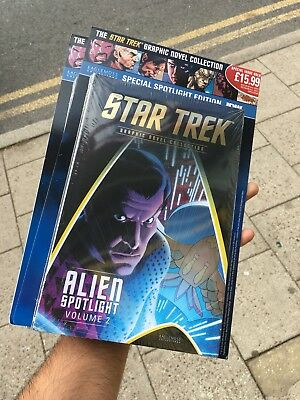 Idw Star Trek Graphic Novel Collection Special Issue Alien Spotlight Volume 2